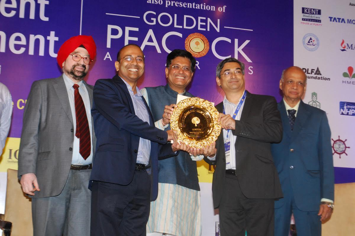 Tetra Pak wins Golden Peacock award 2016