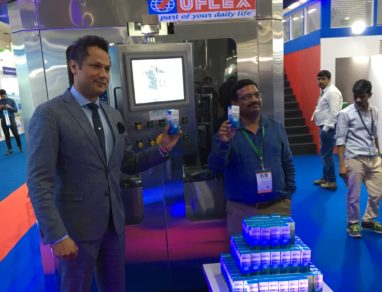 Uflex launches ASEPTO Smart 78, the first ever aseptic liquid filling machine made in India
