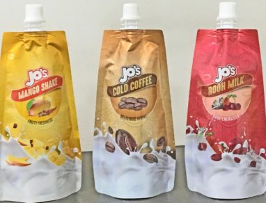 Uflex engineers first Indian retortable spouted stand-up pouch for cold beverages