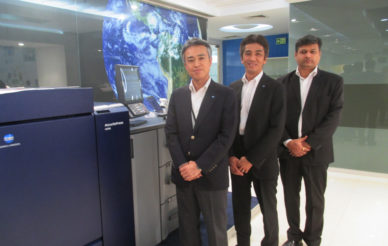 KM focuses on expanding business in India, launches Accurio C6100/6085
