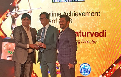 Uflex chairman honored with The Economic Times Polymers Lifetime Achievement Award 2018
