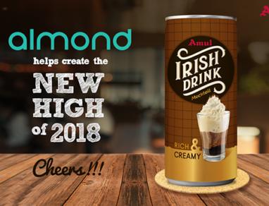 Amul associates with Almond Branding, launches Irish Drink Mocktail