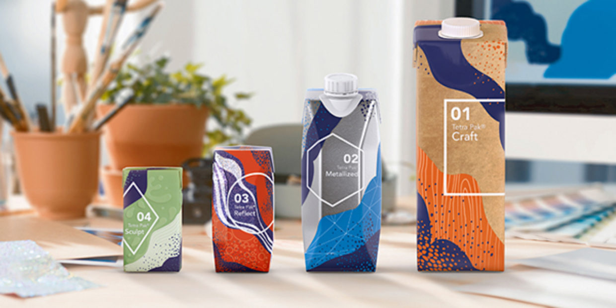Tetra Pak launches new packaging material effects