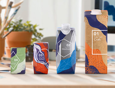 Tetra Pak launches new packaging material effects to help brands