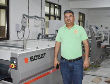 Noida-based Captain Offset installs Bobst Visionfold folder-gluer