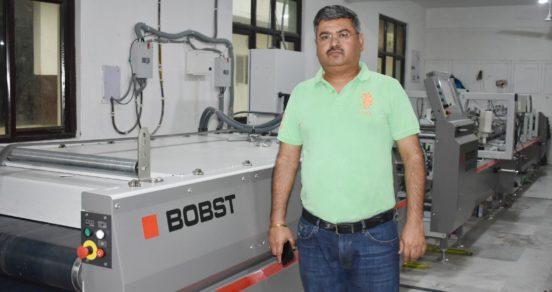 Noida-based Captain Offset installs Bobst Visionfold folder-gluer