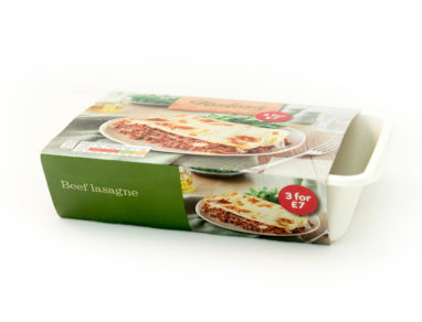 Huhtamaki trials new fiber-based ready-meal packaging