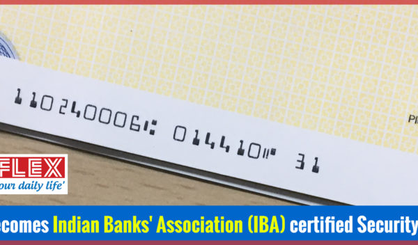Uflex becomes Indian Banks' Association certified security printer