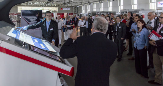 Bobst's Open House in Switzerland
