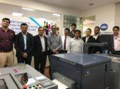 Konica Minolta installs its first roll-to-roll label press in India