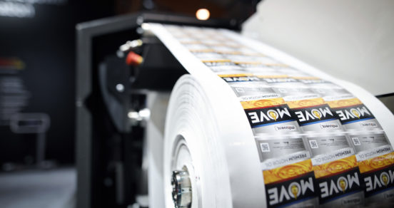 Mouvent's digital label printing innovations at Labelexpo Americas 2018
