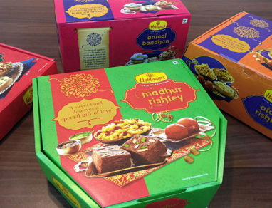 Haldiram's collaborates with DesignerPeople for special gift packaging