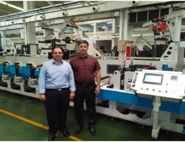 Mumbai-based JD Printers installs Taiyo STF 8-color UV flexo press