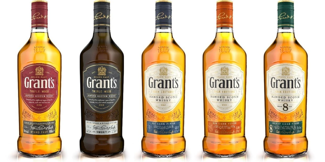 Ardagh Group unveils new William Grant whisky bottle