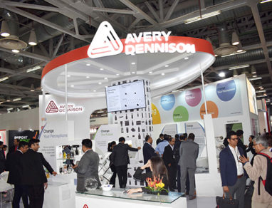 Avery Dennison pioneers change at Labelexpo India 2018